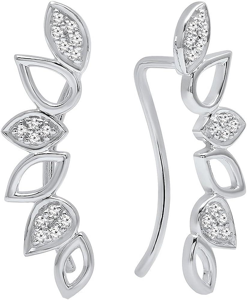Dazzlingrock Collection 0.15 shop Carat ctw Lad Round White Diamond OFFicial shop