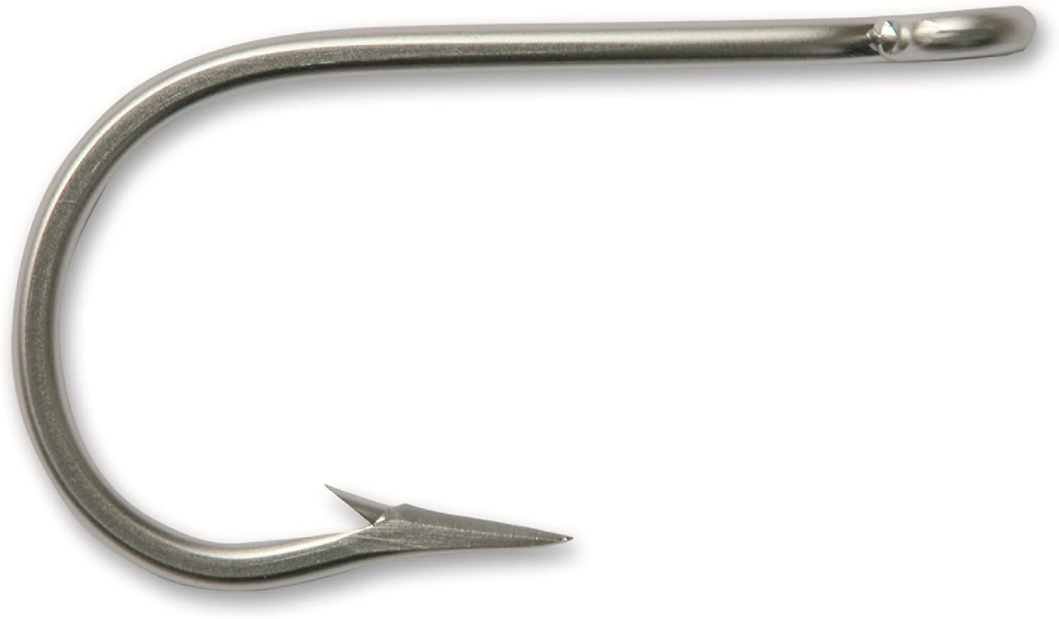 Mustad 7732 Big Game Southern and Tuna Stainless Steel Forged Short Barb Hook (10Pack)