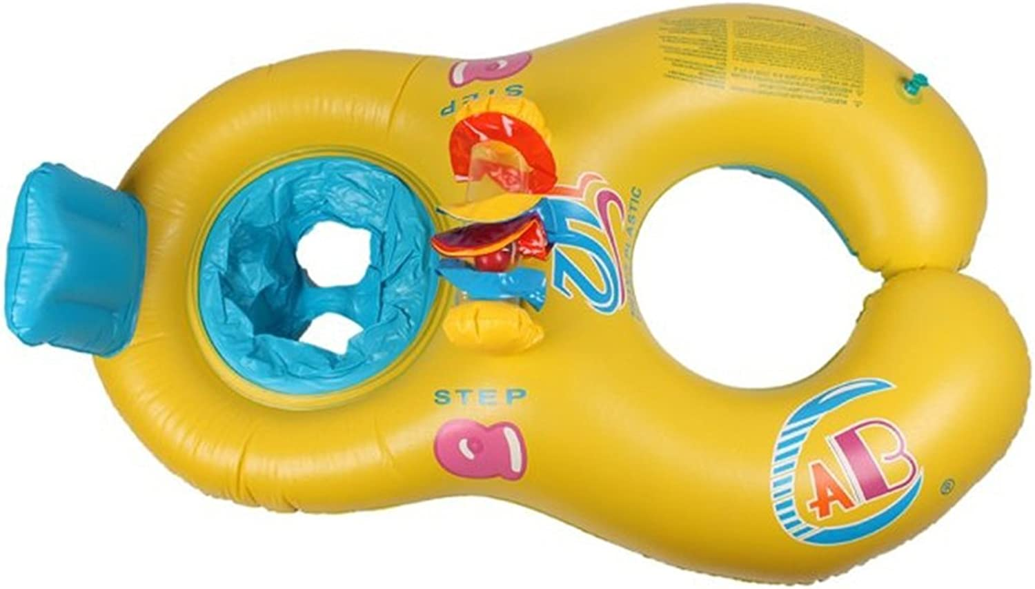 Heng Heng  pc lot Safe Seat Swimming Ring for Baby Bath PVC Inflatable Swim