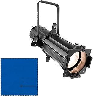 CHAUVET DJ EVE E-50Z 50W LED Ellipsoidal, Black (EVEE50Z)andMicrofiber