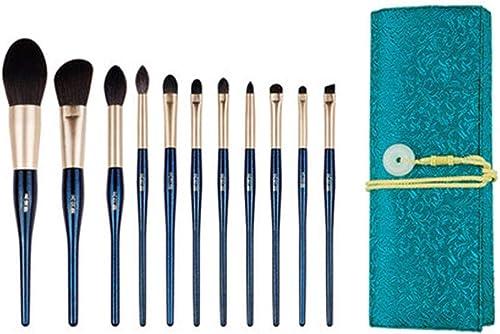 producto de calidad AA-SS-Makeup Brush Pinceles de Maquillaje Set de Pinceles Pinceles Pinceles de Maquillaje de 11 Piezas con Soporte Pincel de Maquillaje con  marca de lujo
