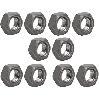 uxcell 20pcs M14 x 1.5mm Pitch Metric Fine Thread Carbon Steel Left Hand Hex Nuts