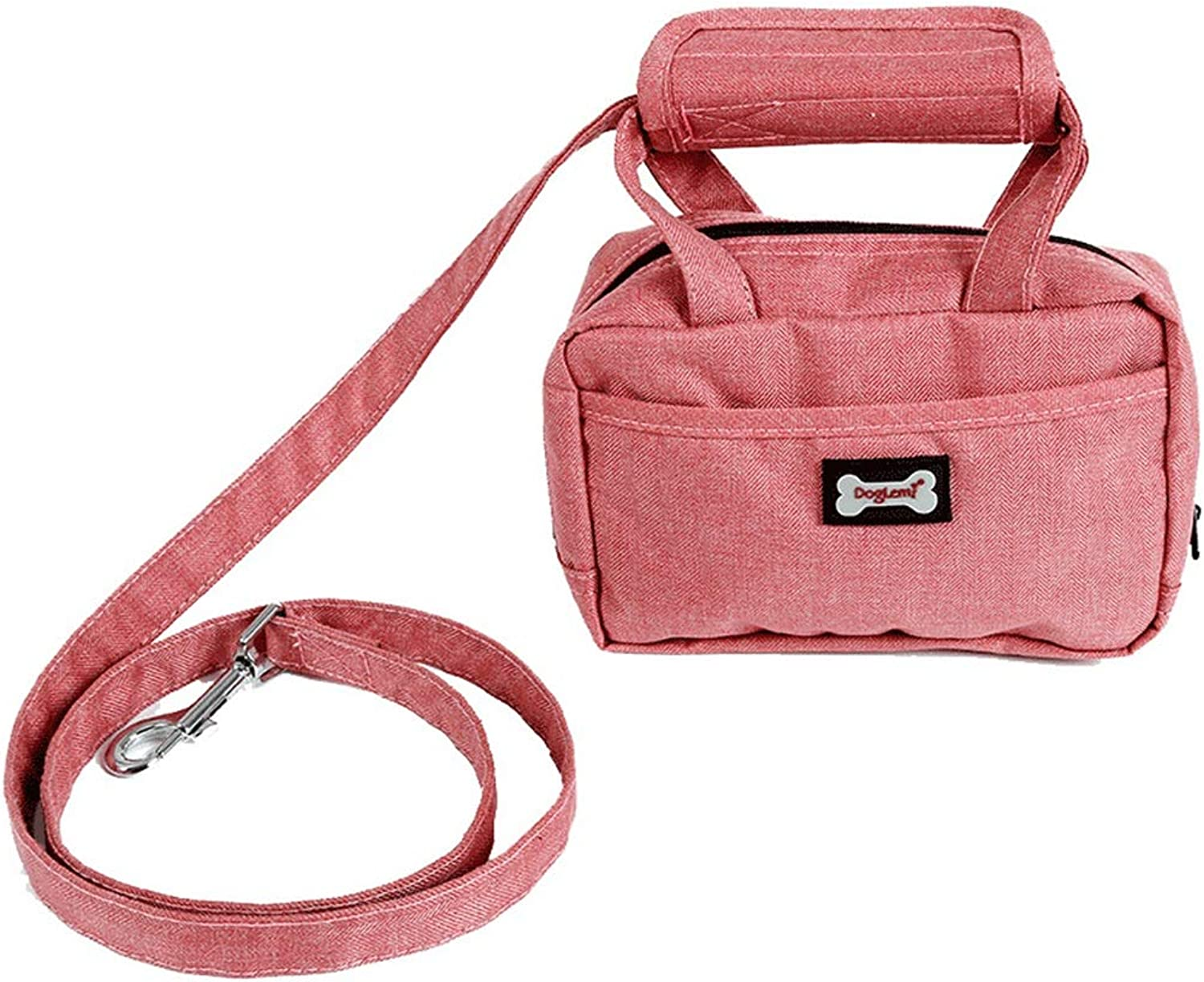 QIQIPET Pet Leads Leash for Small Medium Large Dog Pet Leash Dog Lead Traction Rope (color   Pink)