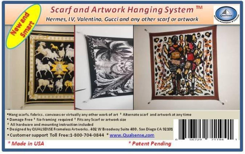 Schal und Kunstwerke-Hanging-System Kunstwerke-Hanging-System Kunstwerke-Hanging-System von garigrid B00O4LECL4 | Ich kann es nicht ablegen  b9950b