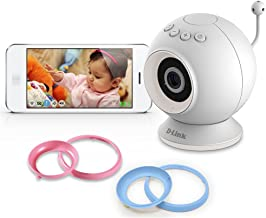 D-Link DCS-825L HD Wi-Fi Baby Camera - Temperature Sensor, Personalize Audio, 2-Way Talk, Local and Remote Video Baby Monitor app for iPhone and Android