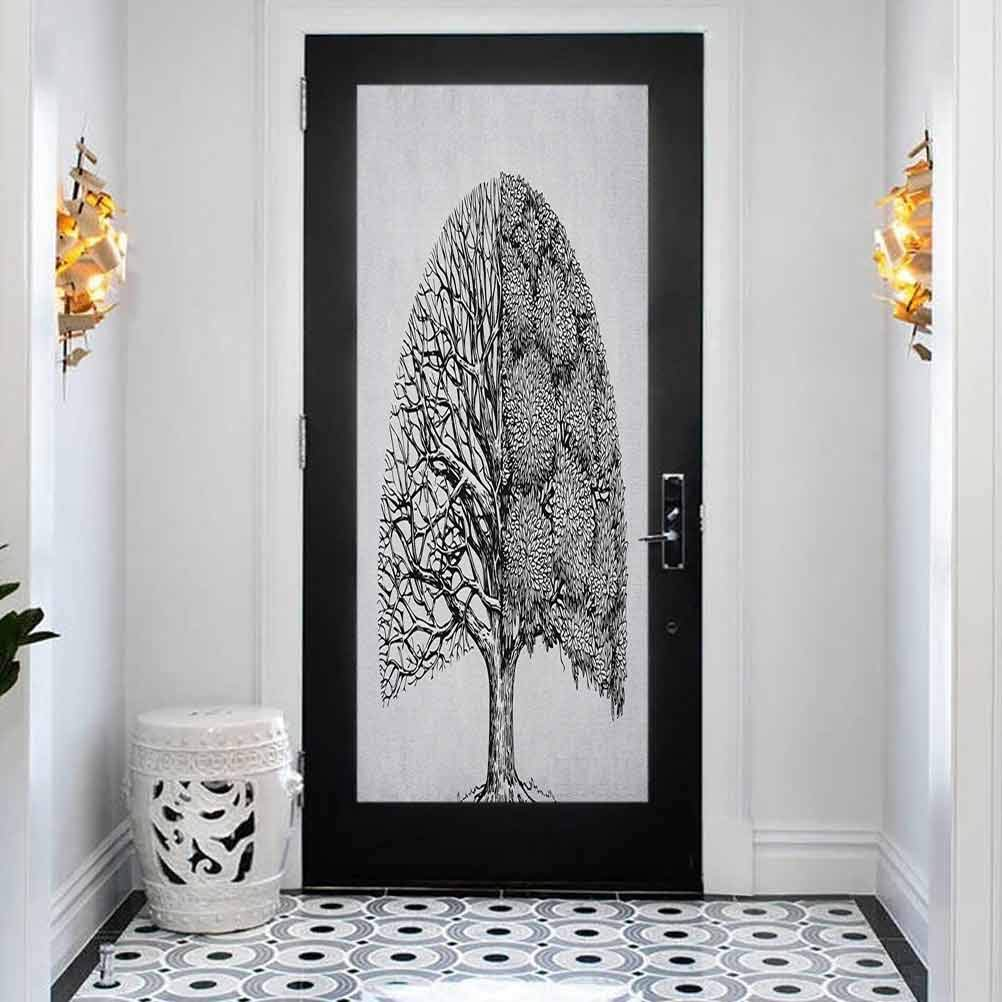 3D Door Mural Bubble Ranking TOP15 Free Sticker Diffe Plant Latest item Tree Life with of