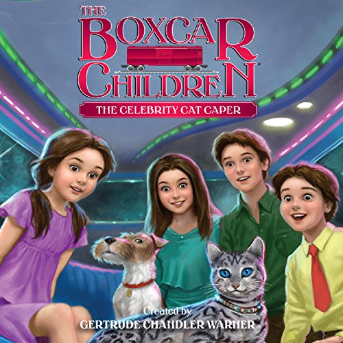 The Celebrity Cat Caper audiobook cover art