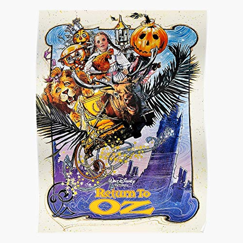 To 80S Pumpkinhead Retro Return Vintage Oz Jack 1980S Movies Cartoon Regalo para la decoración del hogar Wall Art Print Poster 11.7 x 16.5 inch