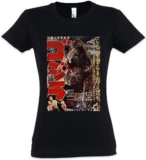Monster Vintage Asia II Camiseta de Mujer Women T-Shirt