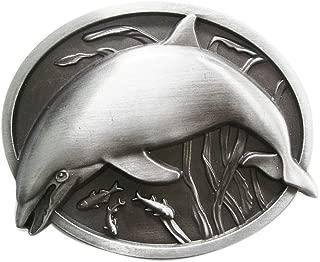 New Vintage Fish Dolphin Wildlife Belt Buckle Gurtelschnalle Boucle de ceinture