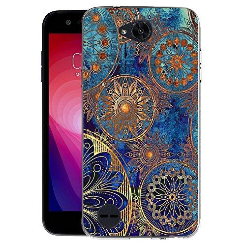 FoneExpert Pattern Soft Slim Gel Silicone TPU Cover Case for LG X Power 2 M320/LG Fiesta LTE/LG X Charge/LG Fiesta 2