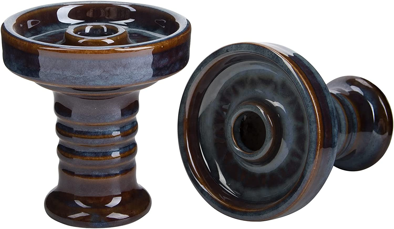 HOKASET Hookah Ceramic Bowl Directly managed store - Shisha Tobacco free shipping Glaze Premium