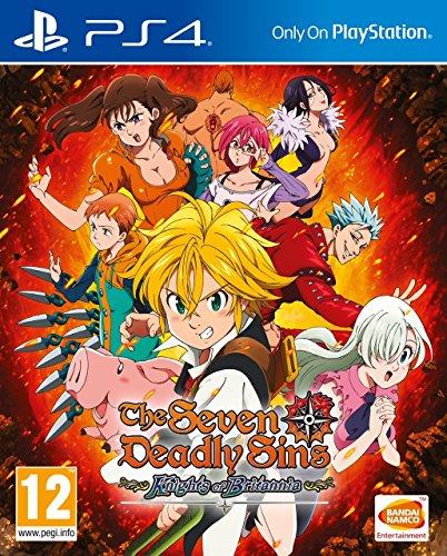 The Seven Deadly Sins: Knights of Britannia - PlayStation 4 [Importación inglesa]