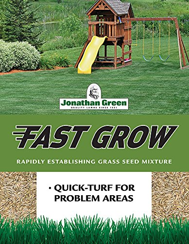 Jonathan Green 10810 Fast Grow Grass Seed Mixture, 25-Pound,Brown/A