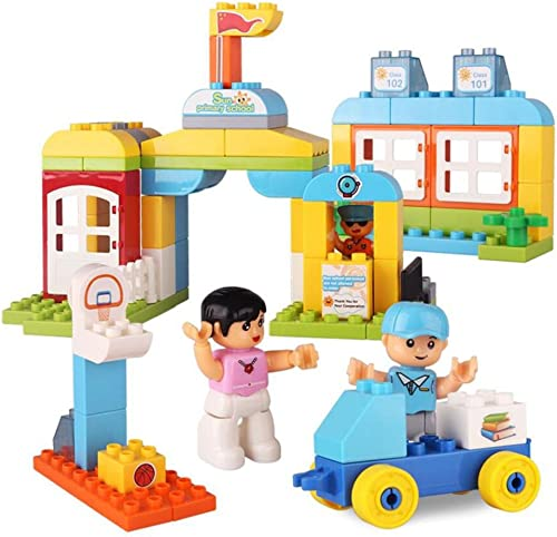 Kinder Plastik Material Montage Bausteine Schule Puzzle Theme Big Grün Bausteine