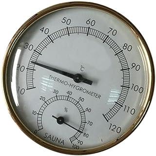Sauna thermo-hygrometer van metaal