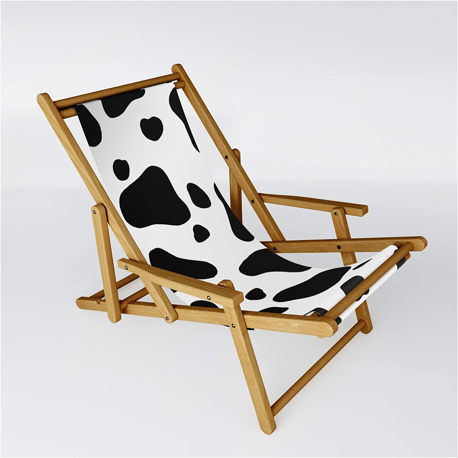 Society6 Cow Hide by The Wellington Boot Si on El Paso Mall Chair Sling - One Many popular brands