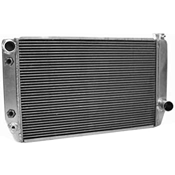 Griffin Radiator 1-26241-XS Race ClassicCool 27.5 x 16 Aluminum Radiator with 2 Rows of 1 Tube
