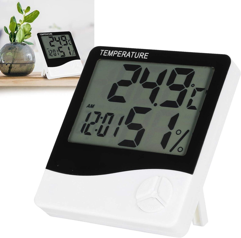 01 Room New Free Shipping Thermometer Plastic Meter Desktop Temperature Max 61% OFF Wallâ€