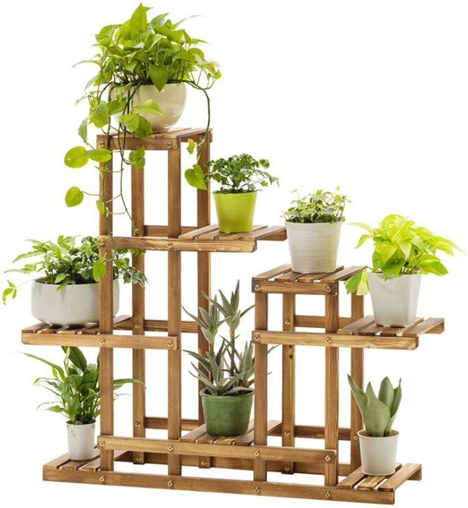Long-awaited Plant Stand Rack Planter Stands Garden Wholesale Wooden Flower