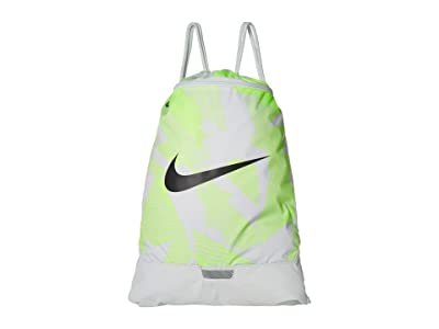 Nike Brasilia Gym Sack 9.0 All Over Print (Photon Dust/Photon Dust/Dark Smoke Grey) Backpack Bags