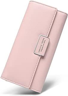 Women Wallet Soft Leather Designer Trifold Multi Card Organizer Lady Clutch