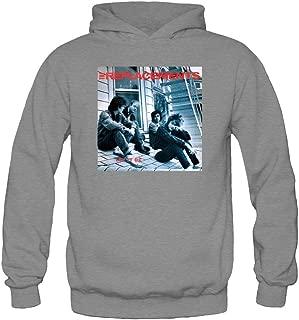 XIULUAN Women's The Replacements Band Logo Let It Be Hooded Sweatshirt XXL Dark Grey