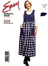 Easy Stitch 'n Save McCalls Jumper Pattern ... McCall's 8320 Size B (L-XL)