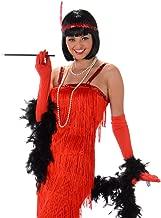 Women's Red Flapper Dress Costume Halloween (Small)