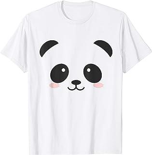 Regalo per bambini in costume da panda di Halloween Maglietta