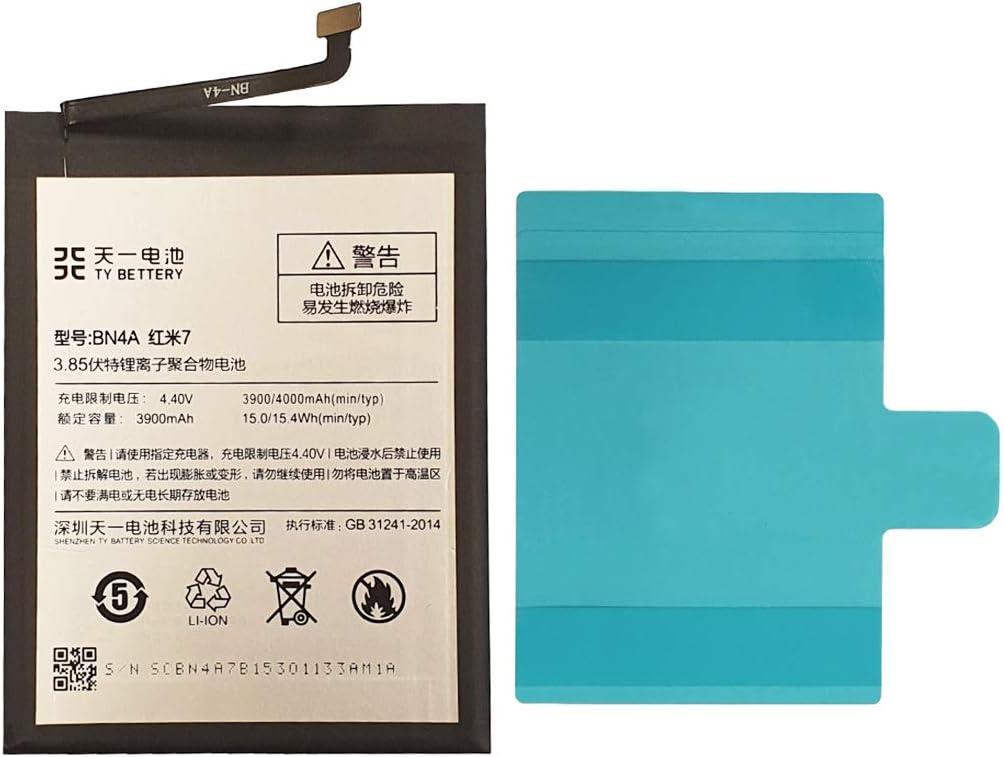 [TY BETTERY] Bateria Compatible con BN4A Xiaomi Redmi Note 7/ Note 7 Pro
