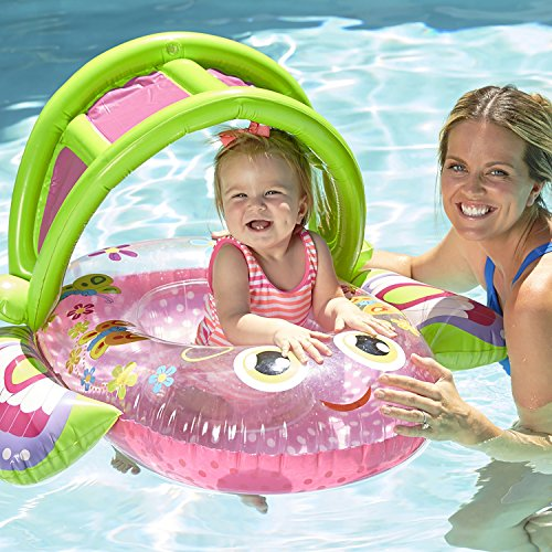 Aqua LEISURE Bouncing Butterfly Baby Boat