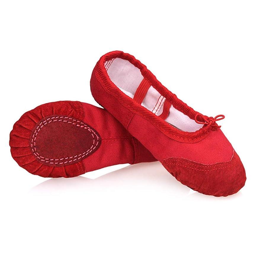 ミュートはい体操選手[千羽屋] 子供用ダンスシューズ女の子用シューズ柔らかい底の靴子供用ダンストレーニングシューズ猫の爪の靴初心者滑り止めウェアラブルソフトダンスシューズ