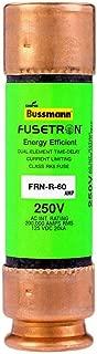 Cooper Bussmann Brand FRN-R-60 (FRN-R-60) 60Amp Fusetron Dual Element Time-Delay Fuse 250V
