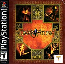 Dark Stone PS1 Instruction Booklet (Sony Playstation Manual ONLY - NO GAME) Pamphlet - NO GAME INCLUDED