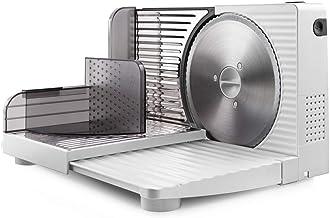 Taurus Cutmaster Compact - Trancheuse électrique 100W, Pour jambon, viande et saucisson, Découpe de 1 à 15 mm, Lame en aci...