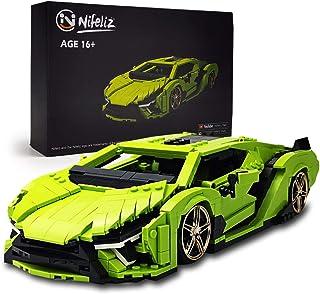 Nifeliz Mini SAI Sports Car MOC Building Blocks and...