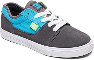 DC Boy's Tonik B Shoe Leather Sneakers