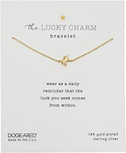 The Lucky Charm Bracelet, Unicorn Charm On Chain