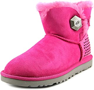 UGG Women's Mini Bailey Button Geo Perf