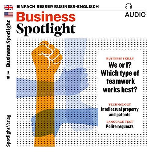 Business Spotlight Audio - Teamwork. 5/2018 Titelbild