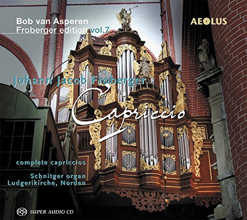 Bob Van Asperen Froberger Edition: Capriccio 7