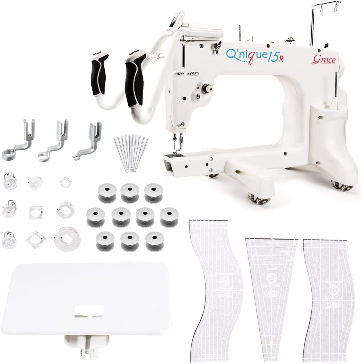 Online limited product Grace Q'nique 15R Midarm Quality inspection Machine Bonuspack Quilting with
