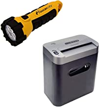 $118 » Toucan City LED Flashlight and Royal 100x 10-Sheet Crosscut Home/Office Shredder 29171Y