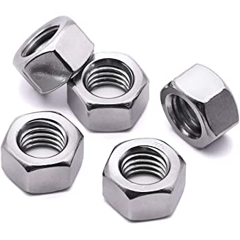 8-Pack 7//16-14-Inch The Hillman Group 602 Stop Nut