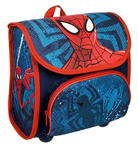 Scooli SPJU8240 Sac à Dos pour Maternelle Cutie avec Fermeture Velcro, Ergonomique, léger, Marvel Spider-Man, env. 4,5 l