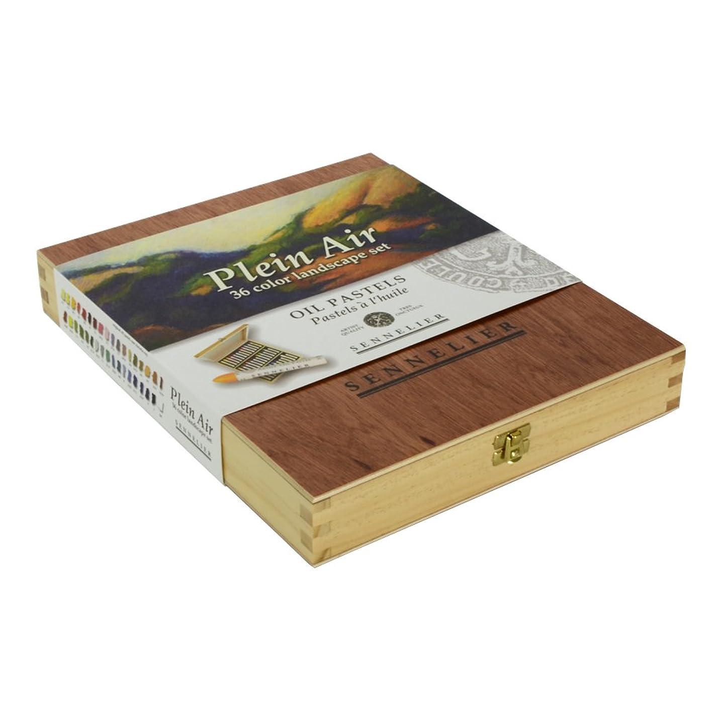 Sennelier Oil Pastel 36 Plein Air Wood Box vhjoprbkk