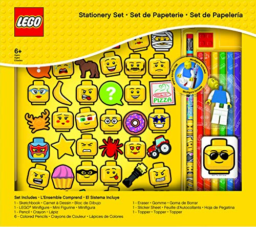 LEGO Iconic Sketchbook Stationery Set - 12 pieces