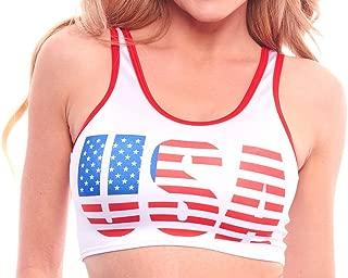 Best american flag crop top Reviews
