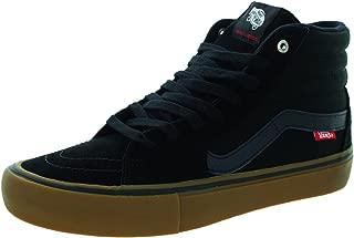 Vans Sk8-Hi Pro Skate Shoe - Men's Black/Gum, 10.5